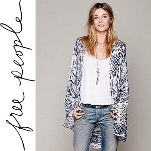 Free People | Woven Fringed Poncho OS